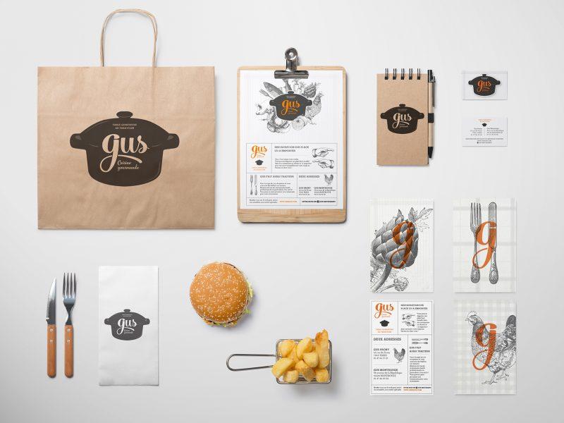 identité visuelle restaurant