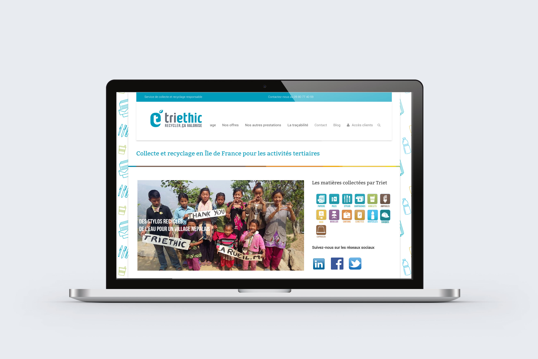 Site web Triethic